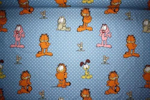 De coton Garfield chat Odie Bleu Points
