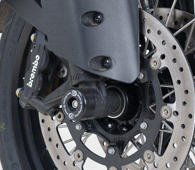 Protection de fourche R&G Racing Noir Pour  KTM 1290 SUPER DUKE R 2014-2016