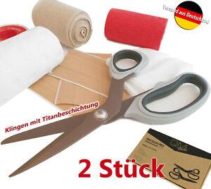 2er-Set-UNIVERSALSCHERE-Titanium-Pflaster-Verband-Haushaltsschere-Erste-Hilfe-1