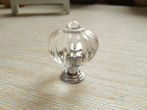 Image Is Loading 20Pcs Clear Kitchen Cabinet Knobs And Handles Dresser