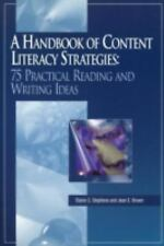 A Handbook of Content Literacy Strategies: 75 Practical Reading and Writing Ide