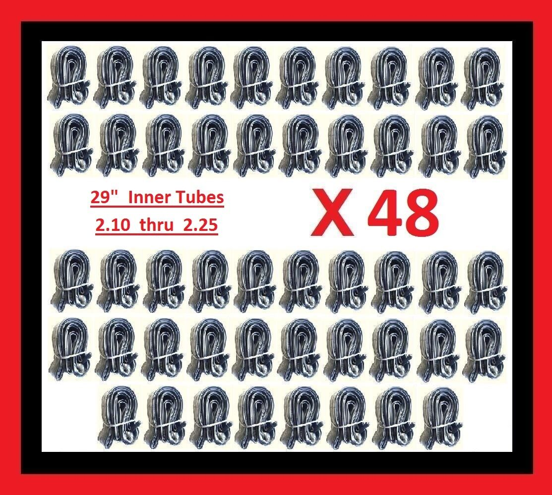 Lot of 48 Bicycle Bike Cycle Tube 29  inch x 2.10 - 2.25 Inner Tubes FREE SHIP