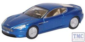 76-amdb-9003-Oxford-Diecast-OO-Aston-Martin-DB9-Coupe-Azul-Cobalto