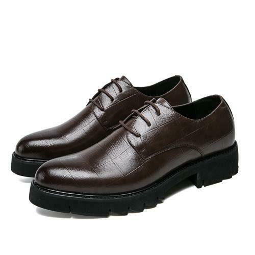 Details about  /Mens Pointy Toe Oxford Work Office British Dress Formal Business Leisure Shoes L