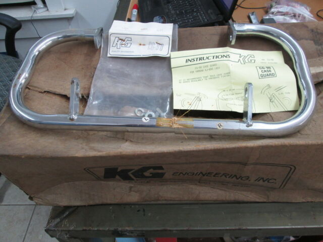 NOS KG Crash Bars Case Guard Savers Engine Guard Yamaha 1980 XJ650 Maxim CG-90