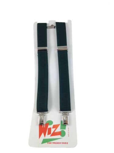 Girls Stretch Purse Belt with Zip Pocket Fastener Plain School Colours 8