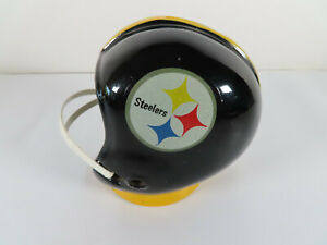 1960s-Pittsburgh-Steelers-Ceramic-Helmet-Bank-NFL-Football