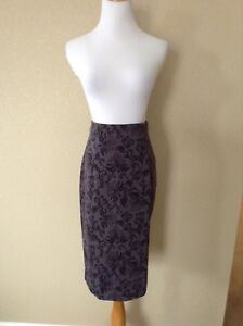 393d494f7 Pre-Owned Nordstrom HALOGEN Ponte High Waisted Pencil Skirt, Size 10 ...