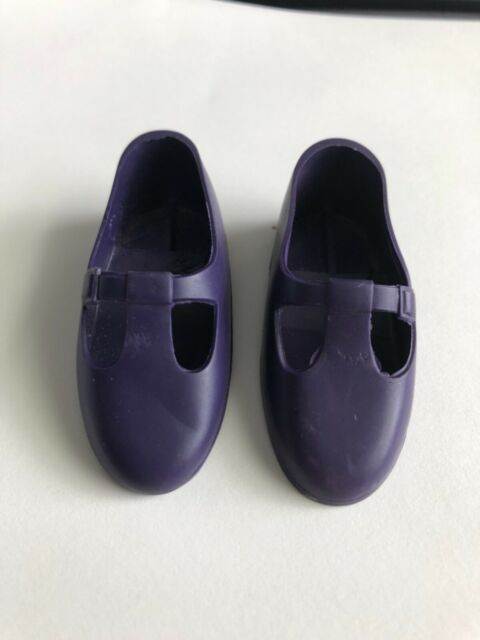 ORIGINAL DARK PURPLE T STRAP SHOES FOR CRISSY'S VELVET, MIA DOLL