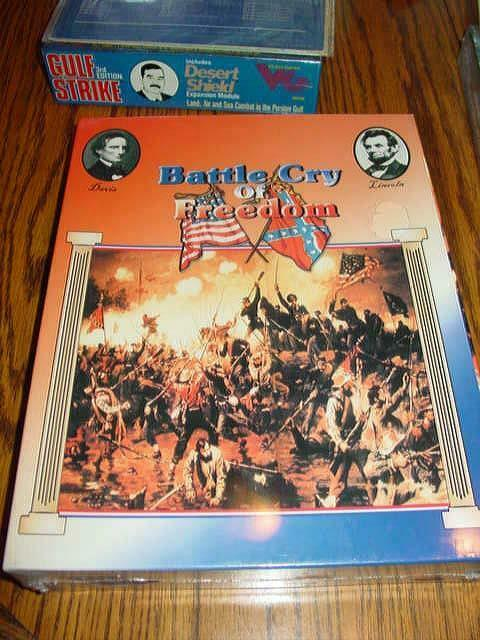 Decision Games - Battle Cry of Freedom - Civil War - Stonewall Card    (SEALED)