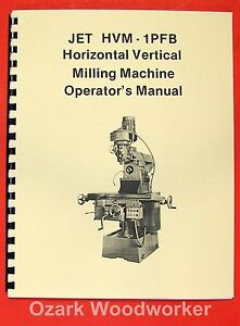 image is loading jet-asian-hvm-1pfb-vertical-horizontal-milling-machine-