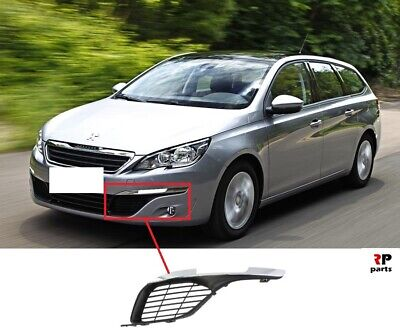 FOR PEUGEOT 308 13-19 FRONT BUMPER FOG LIGHT COVER GRILLE RIGHT O//S
