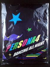 Persona 4 Dancing All Night Yu Narukami T-shirt L Size Black Atlus Animate LTD