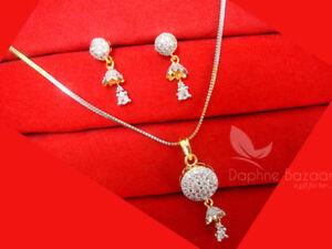 Designer-Stunning-Zircon-Sleek-Pendant-Earrings-Z11-Daphne