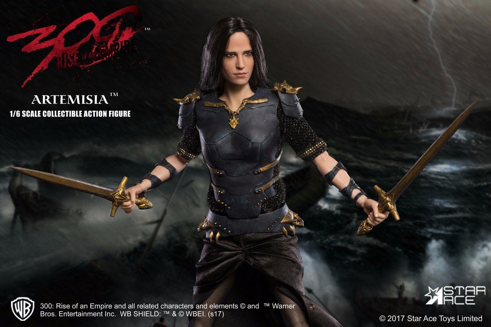 1 6 Scale Star Ace Toys 300  Rise Of An Empire Artemisia Figure Box Set SA0045