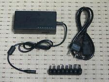 Universal Laptop AC/DC Adapter Netzteil 120W mit 8 Steckeraufsätzen *NEU*