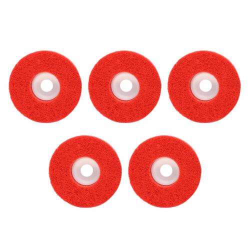 5x Nylonfaser Schleifscheibe Polieren Polierscheibe Pad Schleifbürste