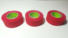 """3 Rolls of Renfrew 30mm 1 3//16/"""" 30 mm x 12 m Wide Black Hockey Tape"""