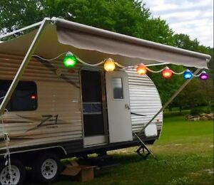 Image Is Loading RV Patio Lights Party Porch Backyard Awning String