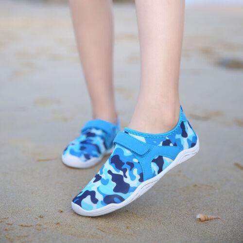Children/'s Swim Water Shoes Quick Dry Non-Slip Barefoot Socks Boys Girls Toddler