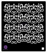 Prima Flowers CAST IRON VINE 6 x 6 Stencil 584610 2016
