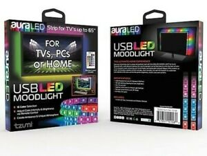 Aura-USB-LED-TV-Backlight-RGB-Strip-Light-TVs-Computer-Mood-Lighting