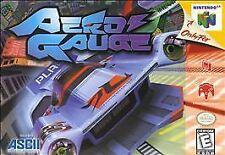 AeroGauge (Nintendo 64) - European Version