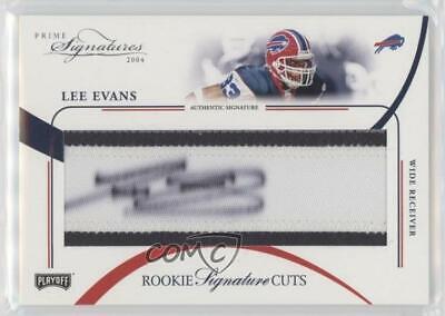 2004 Leaf Limited #207 Lee Evans Buffalo Bills Auto Autographed Football Card