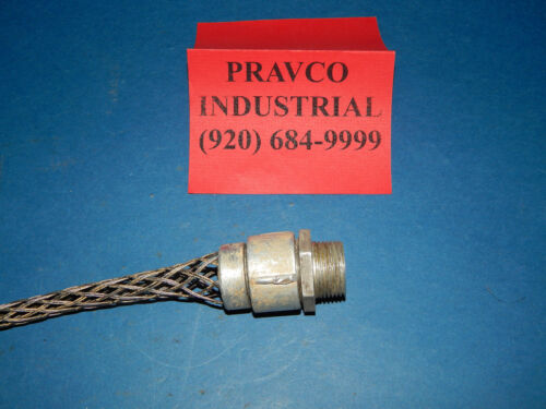 """11.5/"""" NPT .75/"""" Strain Relief Cable // Cord Grip 11-1//2/"""" Length 3//4/"""""""