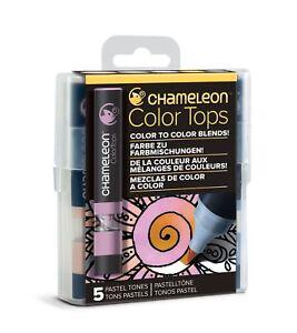Camaleon-color-Prendas-para-el-torso-5-Pen-Set-alcohol-mezcla-tonos-de-color-gradiente-Pastel