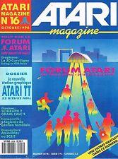 Atari Magazine   N°16   oct 1990 : La nouvelle station graphique Atari TT