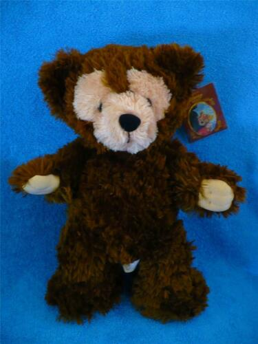 "Disney Hidden Mickey Pre Duffy Chocolate Brown Bear 17"" Plush wTags SuperMint"