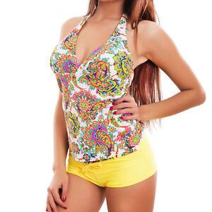 cdbe04ad7d676 La imagen se está cargando Bikini-tankini-mujer-traje-de-bano-mar-dos-