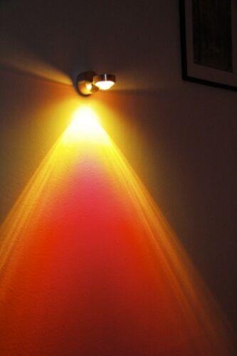 LED Design Flurlampe Wandleuchte Strahler Wohn Schlaf Zimmer Küche Farbwechsel