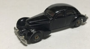 1997 Hot Wheels Black '36 Cord Coupe Made in China Vintage