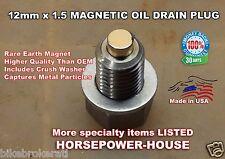 12mm MAGNETIC OIL DRAIN PLUG  2016-2017 HONDA AFRICA TWIN CRF1000 DUAL SPORT ++