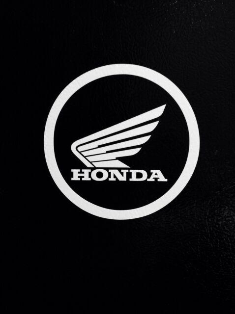 "2 Honda wing Logo #2  4"" Vinyl Decal Car Truck Window Sticker Motorcycle Racing"