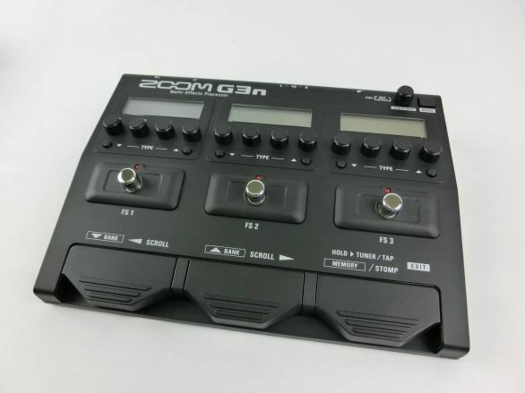 Zoom G3n Multi-effects Processor Guitar Pedal With Tracking Number Number Number F S (5) a875b2