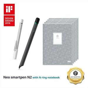 Neo SmartPen N2 with N College notebooks Bundle Promotion