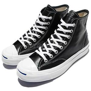 Converse Jack Purcell Signature Black White Mens Casual Shoes Sneakers 153586C
