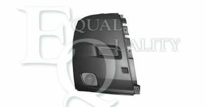 P2110 EQUAL QUALITY Paraurti Dx grigio ruvido CITROËN JUMPER Autobus 2.2 HDi 100