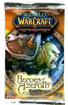 Warcraft Through the Dark Portal Booster Pack x 1 Fortune Telling loot?