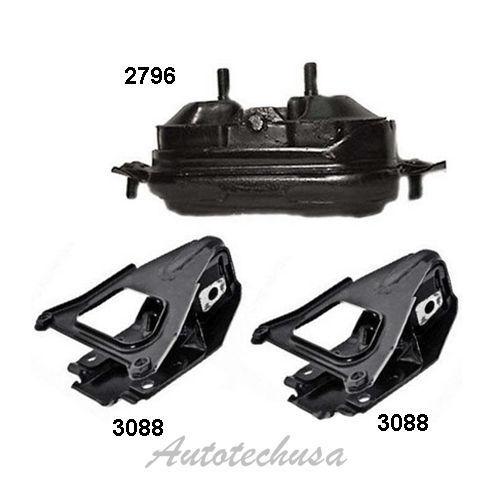 M588 Engine Motor Mount Set 3PCS For 1998-2005 Impala Monte Carlo Intrigue 3.8L