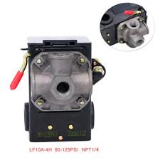 Air Compressor Pressure Switch Control Valve 90 125 Psi 4 Port Heavy Duty 26 Amp