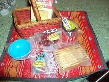 Retired American Girl of the Year 2013 Doll Picnic Set Accessories Saige's Dish
