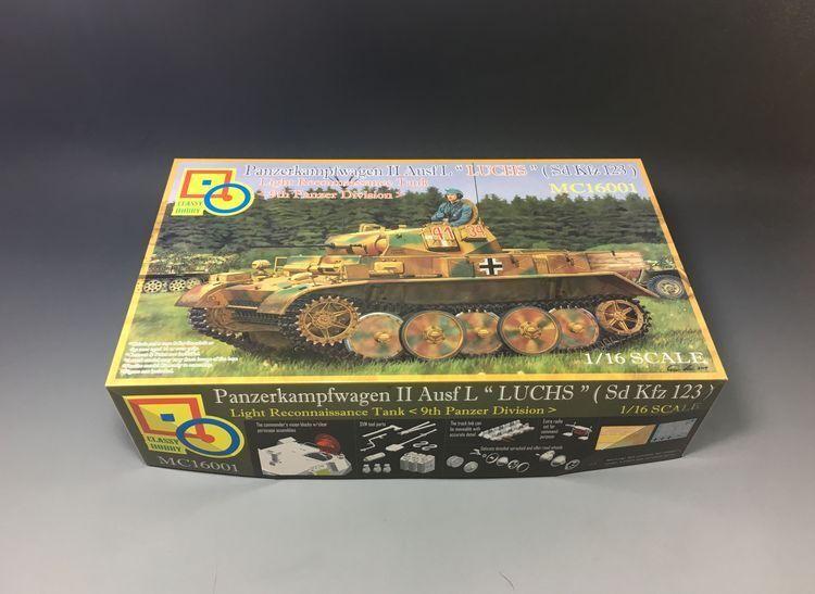 Classy Hobby 1 16 MC16001 Sd.Kfz.123 Panzerkampfwagen II Ausf Luchs