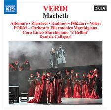 GIUSEPPE VERDI: MACBETH NEW CD