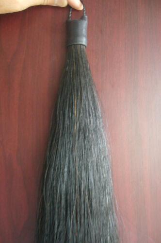 1PC New Original Black Horse Show Tail Hair Extension 70-76cm 170grams