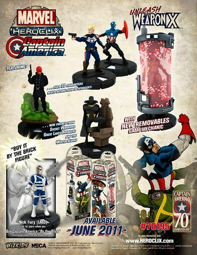 Heroclix CAPTAIN AMERICA Full CUR SR CHASE +Gravity SET