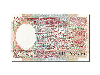 1976 Undated 2 Rupees Km:79j Unc 63 #264234 Online Discount India 1976